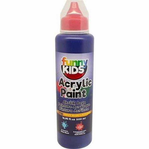 funny-kids-akrilik-boya-500-cc-2718-lacivert