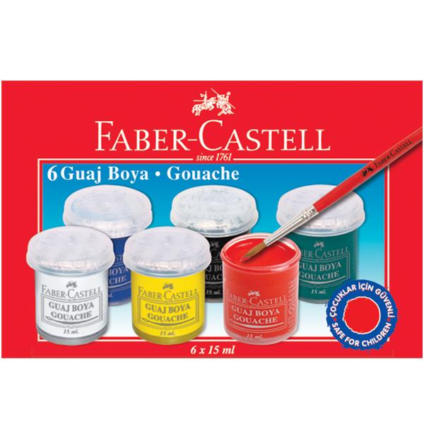 faber-castell-guaj-boya-6-renk-15-ml-5170-160400